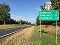 2016-09-06 17 38 17 View east along U.S. Route 211 (Lee Highway) at Old Bridge Road (Virginia State Secondary Route 622) in northern Culpeper County, Virginia.jpg
