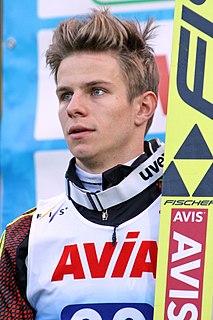 German ski jumper