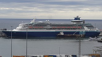 Pullmantur Cruises - Image: 2017 Barcelona Sovereign (ship, 1987) 02 (cropped)