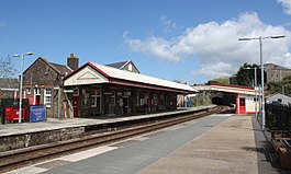 2018 at Redruth station - from the west.JPG