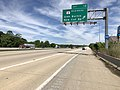 2019-05-21 11 43 08 View north along Interstate 97 (Robert Crain Highway) at Exit 12 (Maryland State Route 3 Business, Glen Burnie, New Cut Road) on the edge of Gambrills and Glen Burnie in Anne Arundel County, Maryland.jpg
