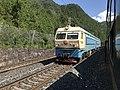 201908 SS4-0209 hauls Freight Train at Tiekou Station.jpg
