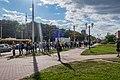 2020 Belarusian protests — line of solidarity in Minsk (13-08-2020) 14.jpg