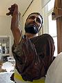 221 Taller de restauració, escultura d'un pas de setmana santa.jpg