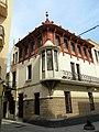 223 Casa Alsina Roig, cantonada c. Abell - riera Buscarons (Canet de Mar).JPG