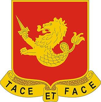25th Field Artillery Regiment - Image: 25 FA Rgt DUI