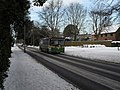 27 bus in a snowy Emsworth Road - geograph.org.uk - 1669600.jpg