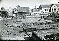 2Opgraving castellum ValkenburgZH 1942 NWhoek takkenfundering wal oudste fase RMO.jpg