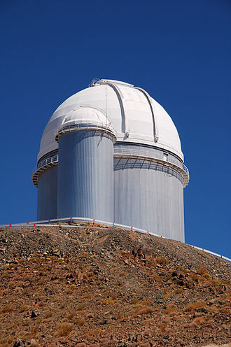 NASA Infrared Telescope Facility - Image: 3.6 m Telescope at La Silla