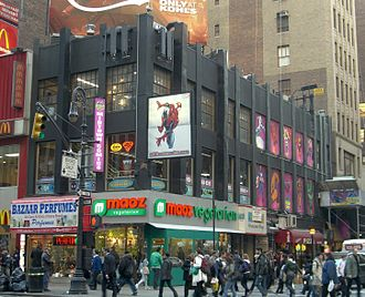 Midtown Comics - The Times Square branch occupies two floors.