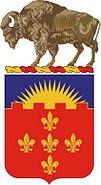 300 FA regiment coat of arms