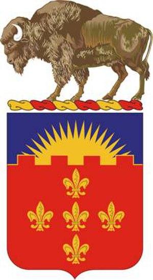 300th Field Artillery Regiment - Coat of arms