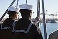 31st MEU Marines man the rails aboard the USS Bonhomme Richard (LHD-6) 150625-M-CX588-047.jpg