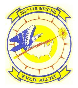 322d Fighter-Interceptor Squadron - Image: 322d Fighter Interceptor Sq emblem