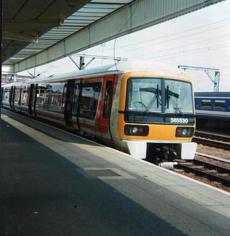 British Rail Class 365 - Class 365 with original front end