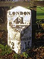 41 miles to London... - geograph.org.uk - 649424.jpg