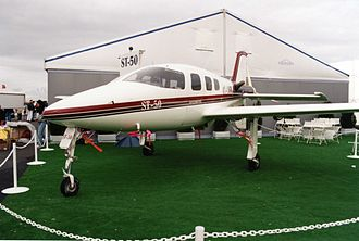 Cirrus Aircraft -  A Cirrus-designed Israviation ST-50, at the Paris Air Show in 1997