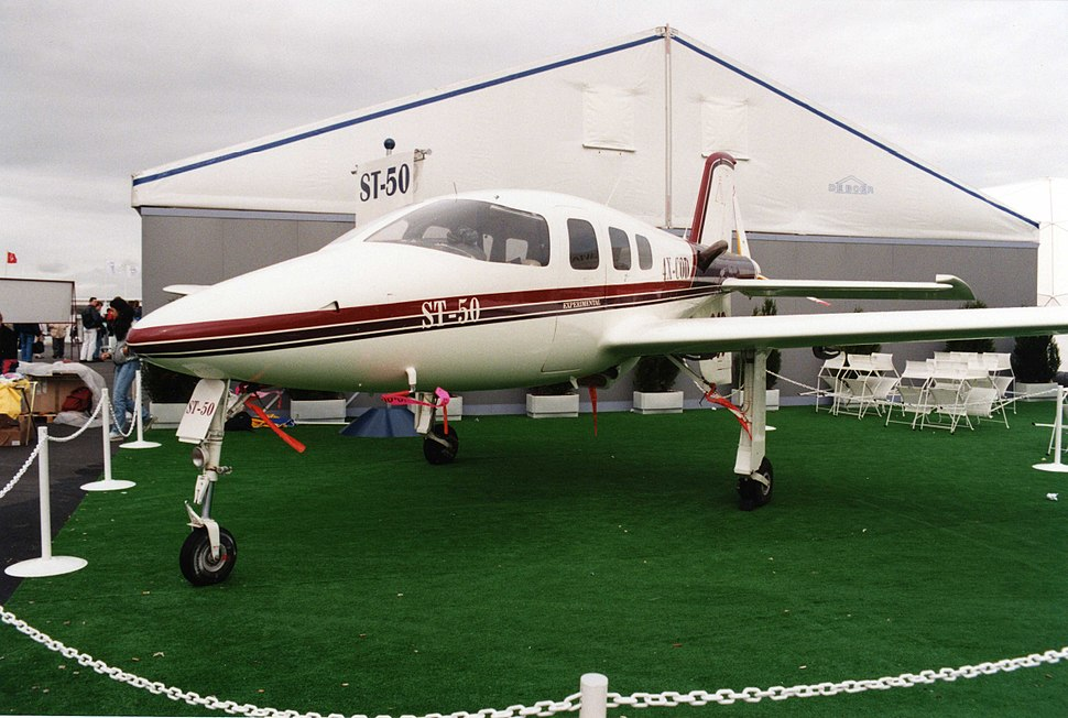 4X-COD Israviation ST-50 (Le Bourget 1997) 1