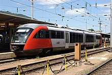 Desiro train in Graz, Austria