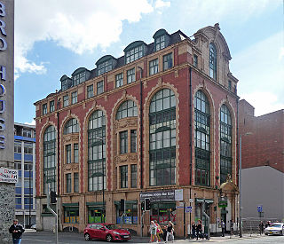50 Newton Street grade II listed former warehouse in Manchester, United kingdom