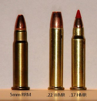 5mm Remington Rimfire Magnum - Image: 5mm Remington Rimfire Magnum