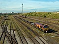 66087 In Tees Yard sidings with a Steel train from Scunthorpe.jpg