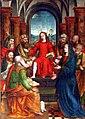 7371 - Milano - S. Maria della Passione - Anonimo lombardo (ca. 1520) - Disputa di Gesù nel Tempio - Foto Giovanni Dall'Orto, 26-Feb-2008.jpg