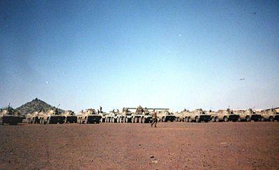 8 SAI preparing for training Lohatla 1993