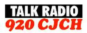 CJCH-FM - former CJCH logo as a news/talk station