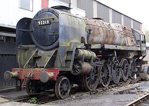 Wensleydale Railway - Image: 92219 at Swanwick 1