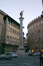 9794 - Firenze - Colonna di S. Trinita - Foto Giovanni Dall'Orto, 28-Oct-2007