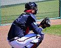 A.J. Pierzynski catches a side session (25279117435).jpg
