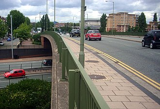 A1000 road - Image: A1000over A406