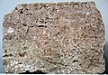 A13, Middle Persian Script, Inscribed Stone Block of Paikuli Tower.jpg