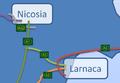 A2 Motorway Cyprus map.png