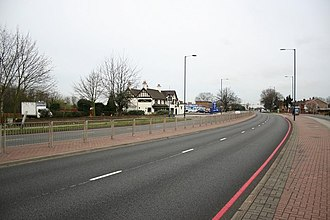 A4 road (England) - The A4 near Heathrow Airport