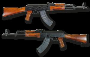 AKM automatkarbin Ryssland - 7.62x39mm - Armémuseum bothsides noBG.png
