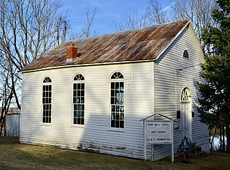 National Register of Historic Places listings in Franklin County, Missouri - Image: AME Church of New Haven