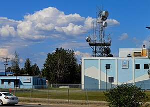 AT&T Alascom Building in Fairbanks Alaska.JPG