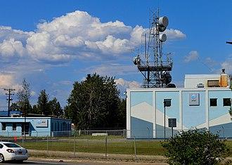 AT&T Alascom - Image: AT&T Alascom Building in Fairbanks Alaska