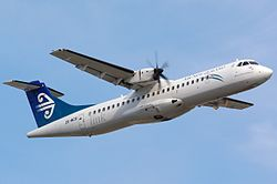 ATR 72-500 der Mount Cook Airline