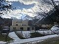 AUT — Tirol — Längenfeld — Bezirk Imst — Längenfeld — Oberlängenfeld 140 (Aqua Dome außen — nordseitige Bauten).JPG