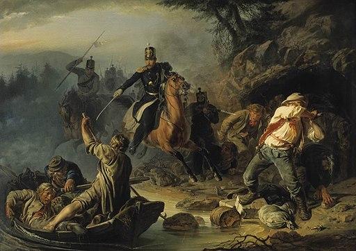 A Brawl with Finnish Contrabandists by Vasili Khudiakov