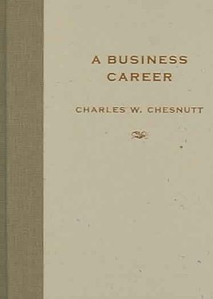 A Business Career - First edition cover