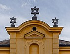 A building at Jewish cemetery in Třebíč, Czech Republic.jpg
