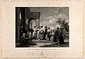 A family enters a church at L'Ariccia for the christening of Wellcome V0035760.jpg