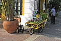 A fruit vendor's push cart, Cartagena, Colombia (24341466685).jpg