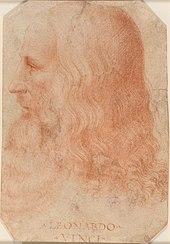 Um retrato de Leonardo da Vinci