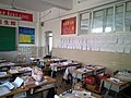 A view of a classroom in Tieling High School 02.jpg