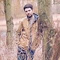 Aaron Morris Comedian in some trees.jpg